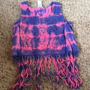 Guess Fringe Tank Top